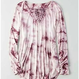 American eagle Soft and sexy tie dye long sleeve